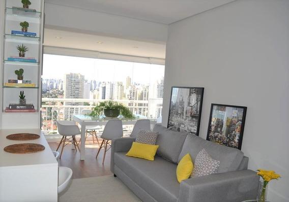 Apartamento Com 2 Dormitórios Para Alugar, 74 M² Por R$ 5.000/mês - Brooklin - São Paulo/sp Forte Prime Imoveis - Ap43374