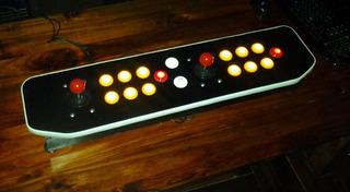 Joystick Arcade 2 Players Para Ps3 Y Pc-mame- Raspberry Pi