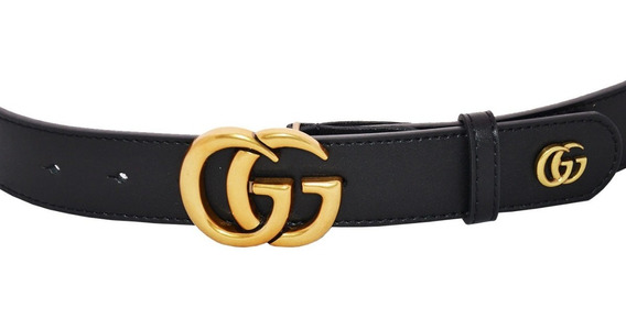 Correa Gucci Mujer Cinturón Dama 34 Mm Cg32