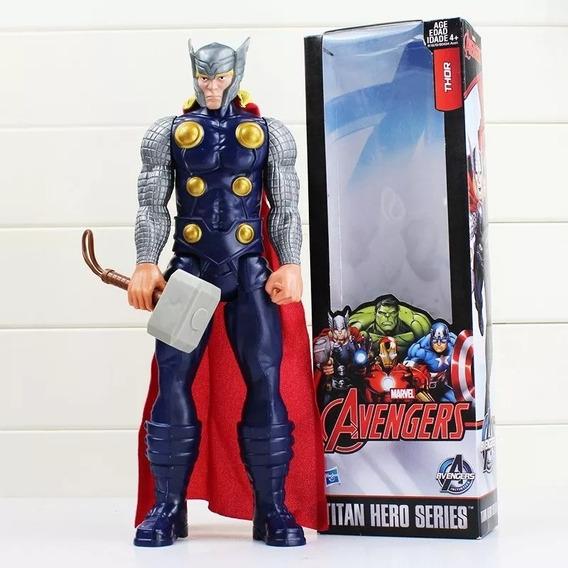 Boneco Thor 30 Cm Herói Vingadores Hasbro Marvel C/ Caixa/