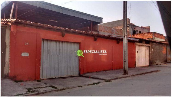 Casa Com 3 Dormitórios À Venda, 245 M² Por R$ 250.000 - Belo Vale - Santa Luzia/mg - Ca0134