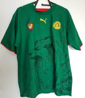 Camisa Puma Camarões Home Gg - Temporada 2006