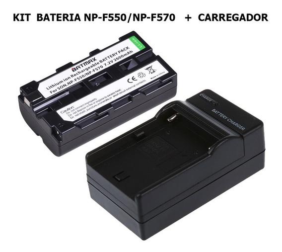 Bateria Np-f550 + Carregador