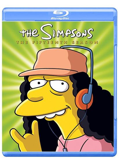 Los Simpson Quinceava Temporada Serie Bluray