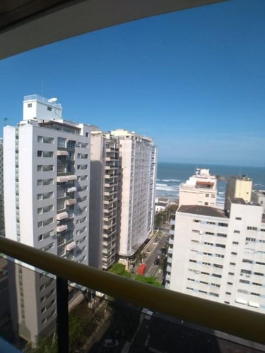 Imagem 1 de 11 de Flat - 2 Dormitórios - Praia Das Pitangueiras - Guarujá-sp - Fl0040 - 34711629