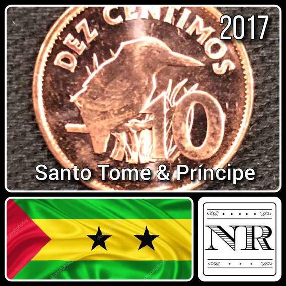 Santo Tome & Principe - 10 Centimos - Año 2017 - Km # Nd