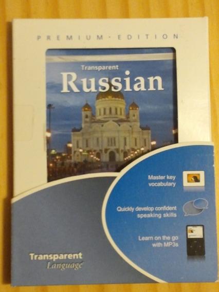 Curso De Russo Transparent Russian Dvd Premium Edition