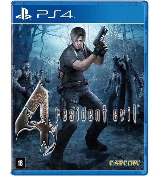 Resident Evil 4 Remaster Ps4 Original Mídia Física Lacrado