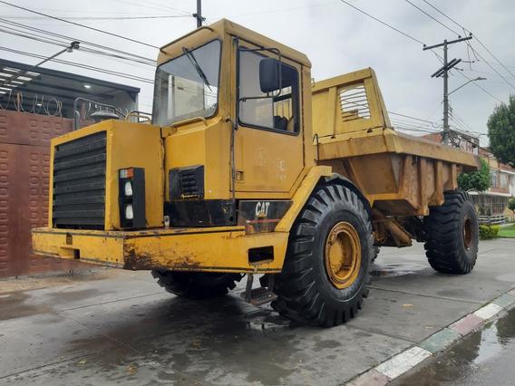 Dumper Camión Articulado Volqueta Caterpillar D25d Serie 2