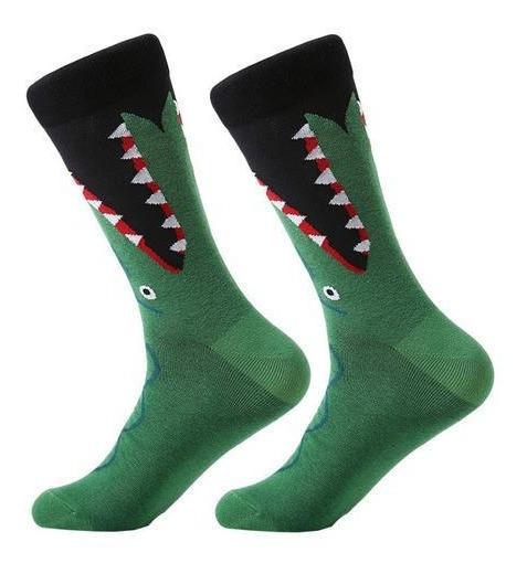 Calcetines Divertidos Cocodrilo Unisex Blessed Socks