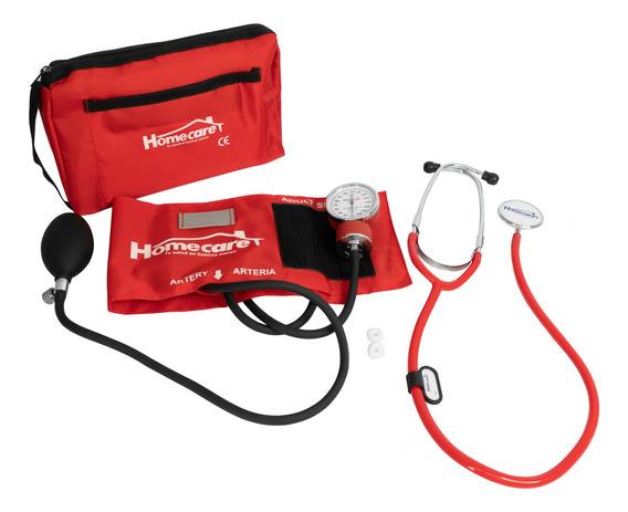 Kit Estetoscopio Simple Con Baumanometro Homecare Dmh2000
