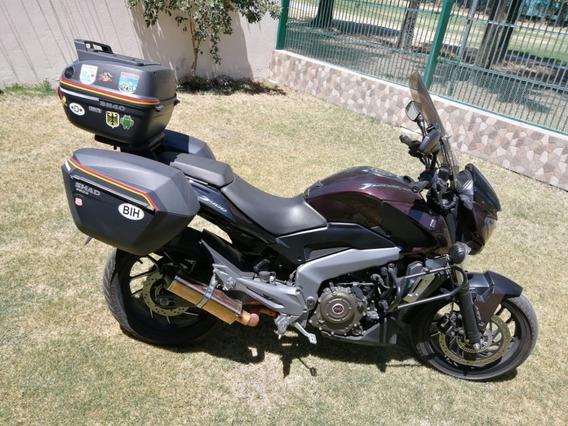 Moto Bajaj Dominar 2018 Muy Bonita Y Equipadisima!!!
