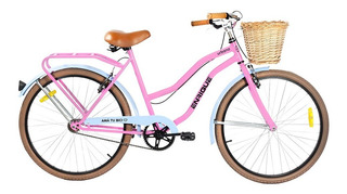 Bicicleta Enrique R 26 Urbana Paseo De Dama Canasto