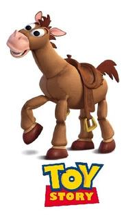 Cavalo Bala No Alvo Toy Story Pelucia De 30cm C/ Som - Br807