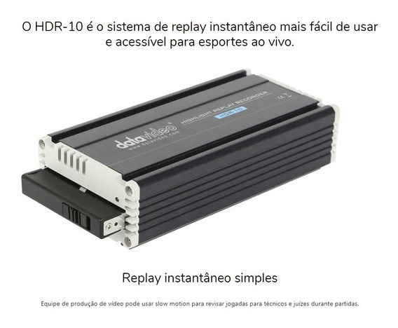 Replay Datavideo Hdr-10