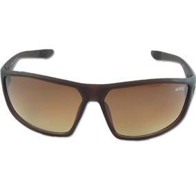Óculos Nike Ignition Ev0865 Masculino Marrom Esporte