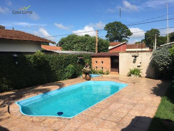 Casa Com 4 Dormitórios À Venda, 159 M² Por R$ 900.000 - Chácara São João - Mogi Guaçu/sp - Ca1221