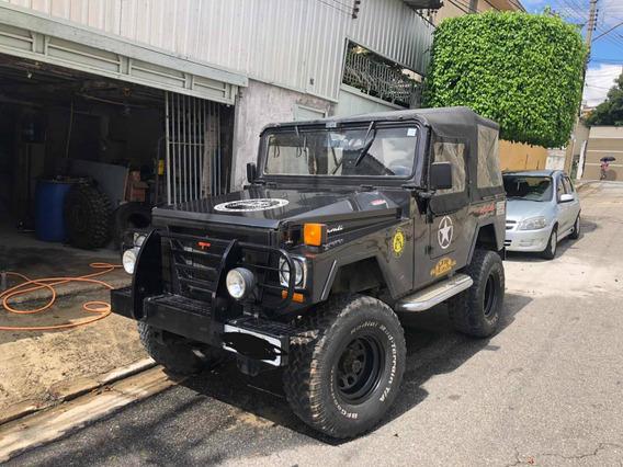 Jipe Cbt Javali 4x4 Diesel Jeep Ano 1990