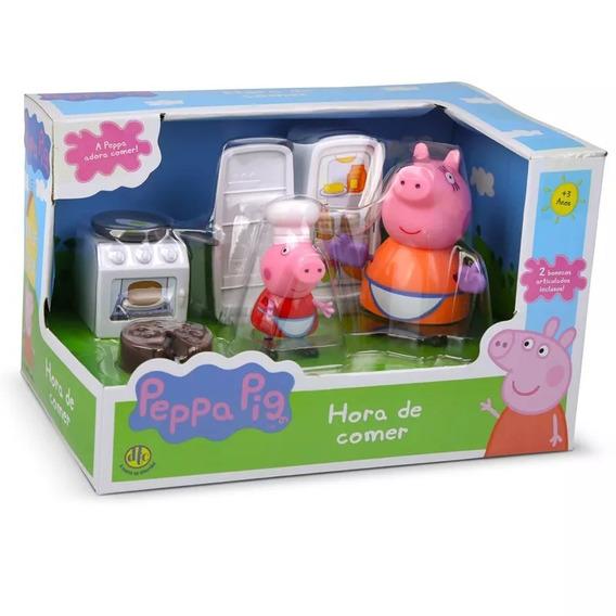 Boneca Peppa Pig - Hora De Comer - Dtc 4204