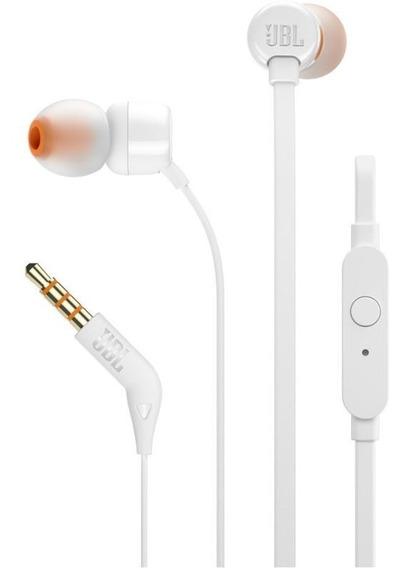 Fone De Ouvido Jbl In Ear - T110 Branco