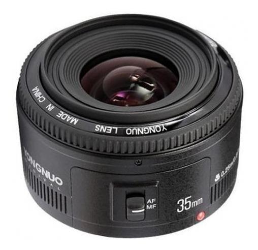 Lente Yongnuo Yn 35mm F/2 Canon