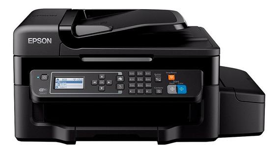 Impressora multifuncional Epson L575 com Wi-Fi 110V/220V (Bivolt)
