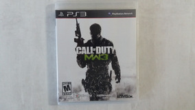Call Of Duty Mw3 Modern Warfare 3 - Ps3 - Original