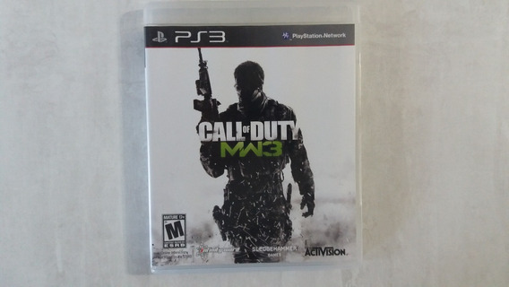 Jogo Call Of Duty Mw3 Modern Warfare 3 - Ps3 - Original