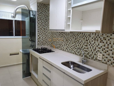 Excelente Apartamento Para Locação No Vila Rosália Com 2 Dorm, 1 Suíte, 2 Vagas, 66 M² - 1390