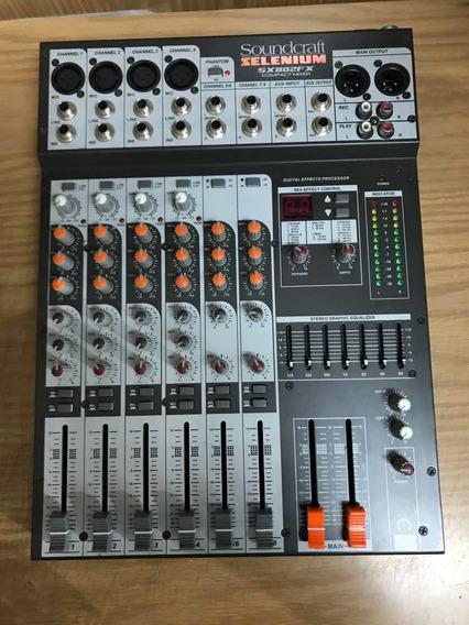 Mesa De Som Sx802 802 Fx Soundcraft