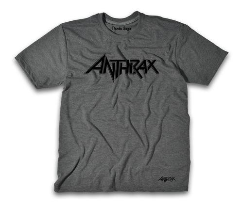 Camiseta Anthrax - Ropa De Rock Y Metal