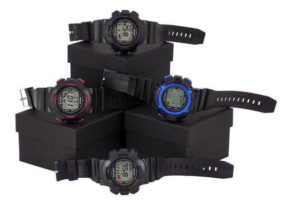 Kit Combo 10 Relógios Orizom Sport Masculino Original + Caixa Revenda Com Nota Fiscal