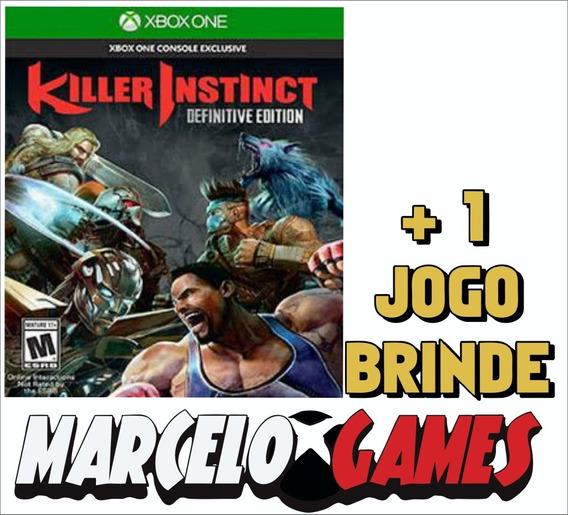 Killer Instinct Definitive Edition Xbox One Midia Digital