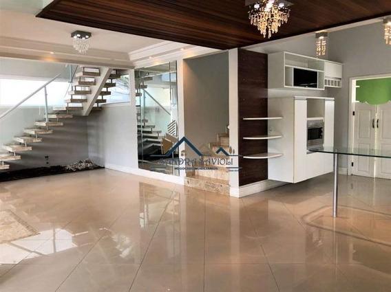 Lindo Projeto, Casa Em Condomínio Em Jandira, Evidraçada E Em Iluminada! - 354