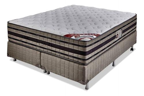 Sommier King Resorte Pocket Doble Pillow Memory Foam