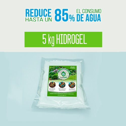 5 Kg - Hidrogel Retenedor De Agua