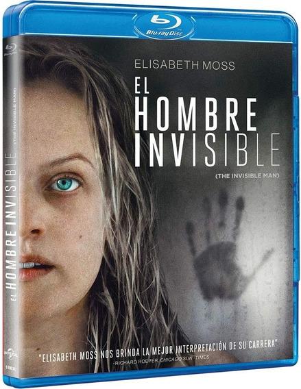 El Hombre Invisible Elisabeth Moss Pelicula Blu-ray