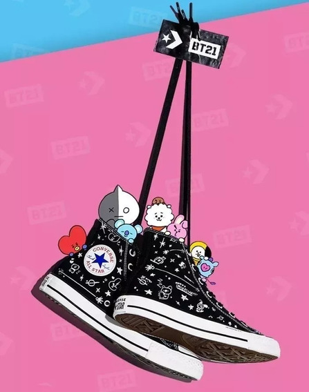 Bt21 Converse Bts Tenis Kpop Talla23 Tata Chimmy Tear Answer