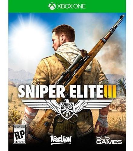 Sniper Elite 3 Xbox One Mídia Digital + 1 Jogo Grátis
