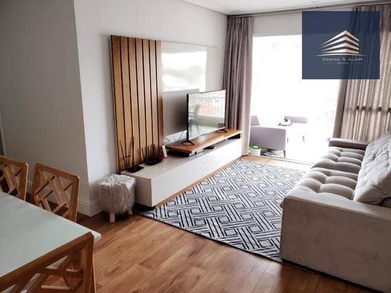 Apartamento No Condomínio Carpe Diem, Bosque Maia, 94m², 1 Suíte, 2 Vagas. - Ap0909