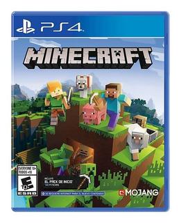 Minecraft Bedrock Ps4 2019 - Nuevo - Sellado