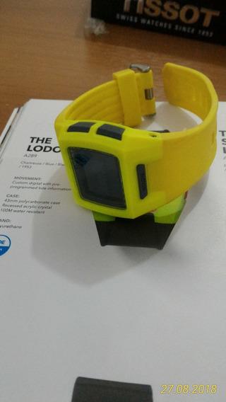 Relógio Nixon Unissex Small Lodown Neon Yellow Novo