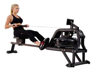 Máquina Remo Agua 500m Sunny Fitness Obsidian Sf-rw5713