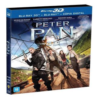 Blu-ray 3d + Blu-ray + Copia Digital - Peter Pan 3d