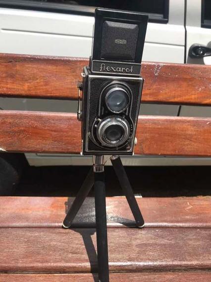 Câmera Retro Para Colecionador Anos 60 E 70 Flexaret
