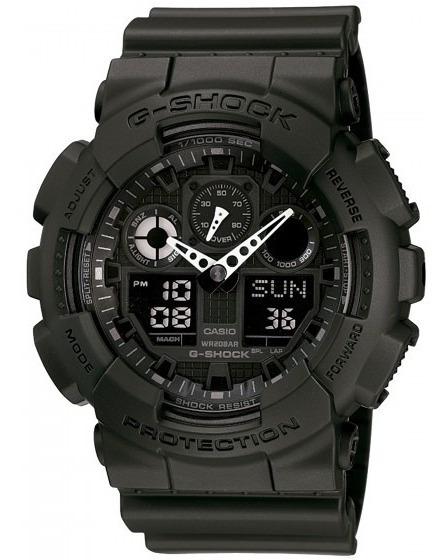 Relógio Casio Ga-100-1a1dr G-shock Militar Sport - Refinado