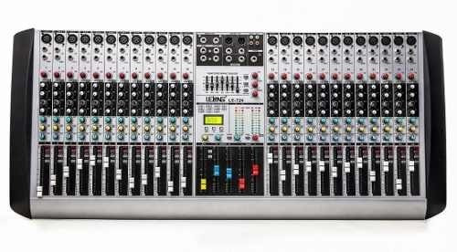 Mesa De Som 24 Canais P10 Xrl Mixer Digital Aux 26 Efeitos!!