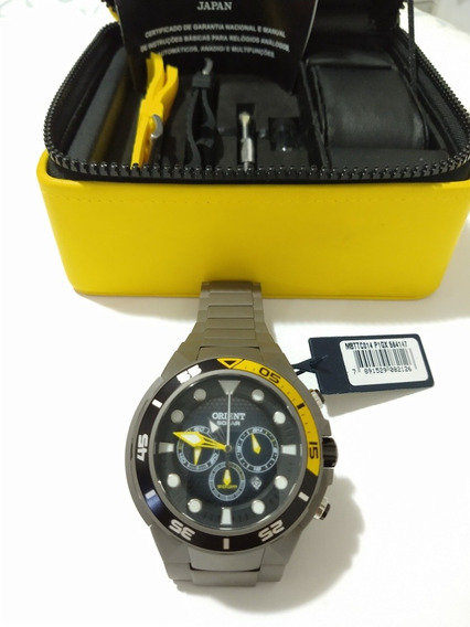 Relógio Orient Titanium
