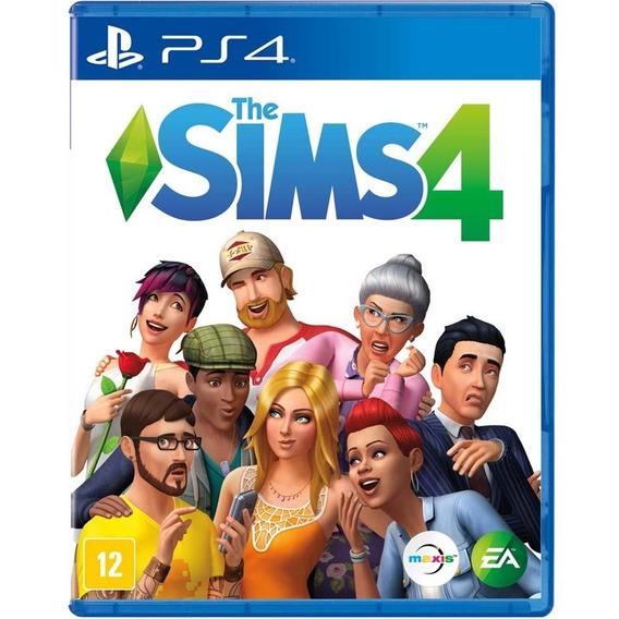 Jogo The Sims 4 Ps4 Midia Fisica Original Novo Nacional Br