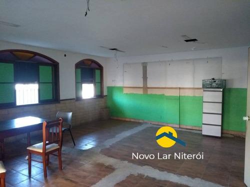 Imagem 1 de 15 de Excelente Sobreloja Centro De Niterói 140 M² (locação) - 376